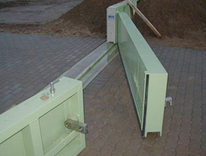 Double Leaf Flood Gate – Mild Steel Coated