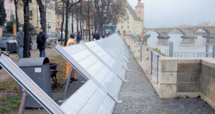 Ibs K System Delivers Temporary Flood Protection During