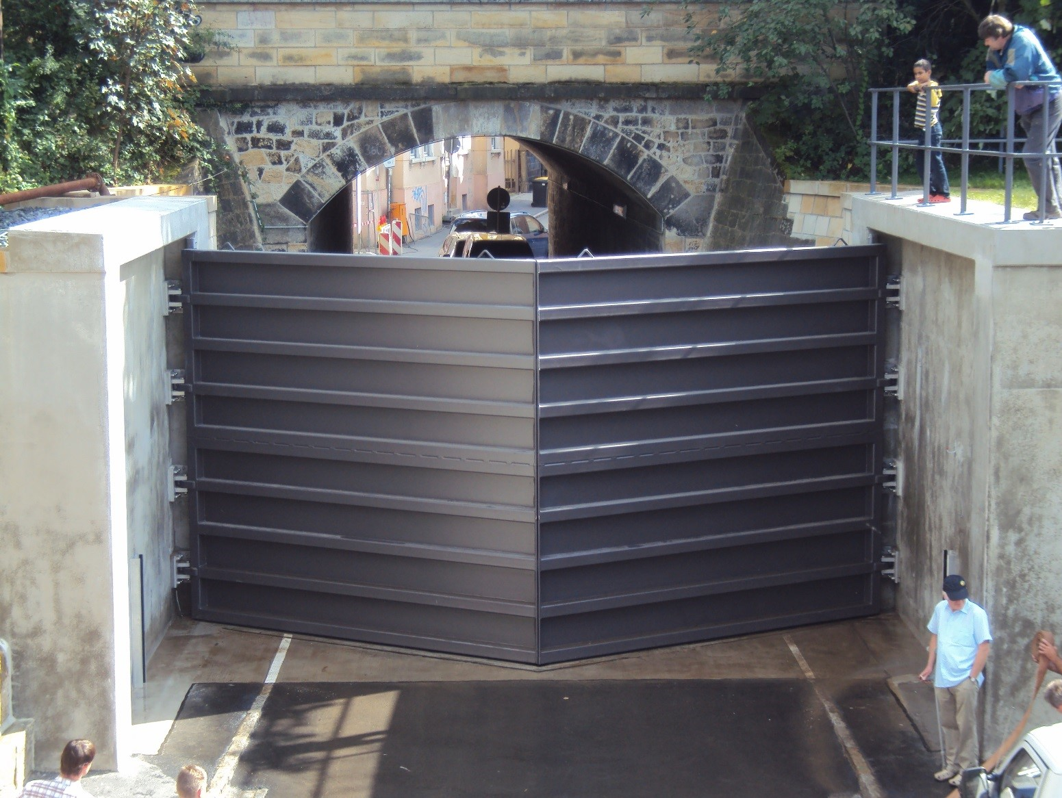 floodgates-Pirna Gate