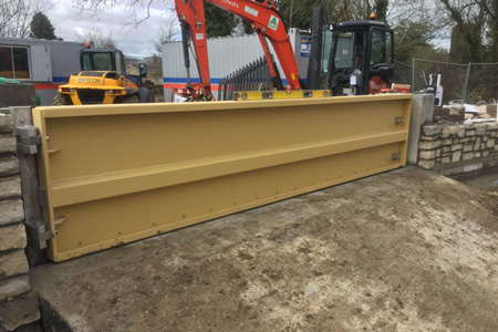 Steel Floodgate For Axminster Project
