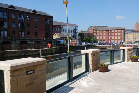 Flood Glazing Installations Completed As Part Of The Leeds FAS Project!