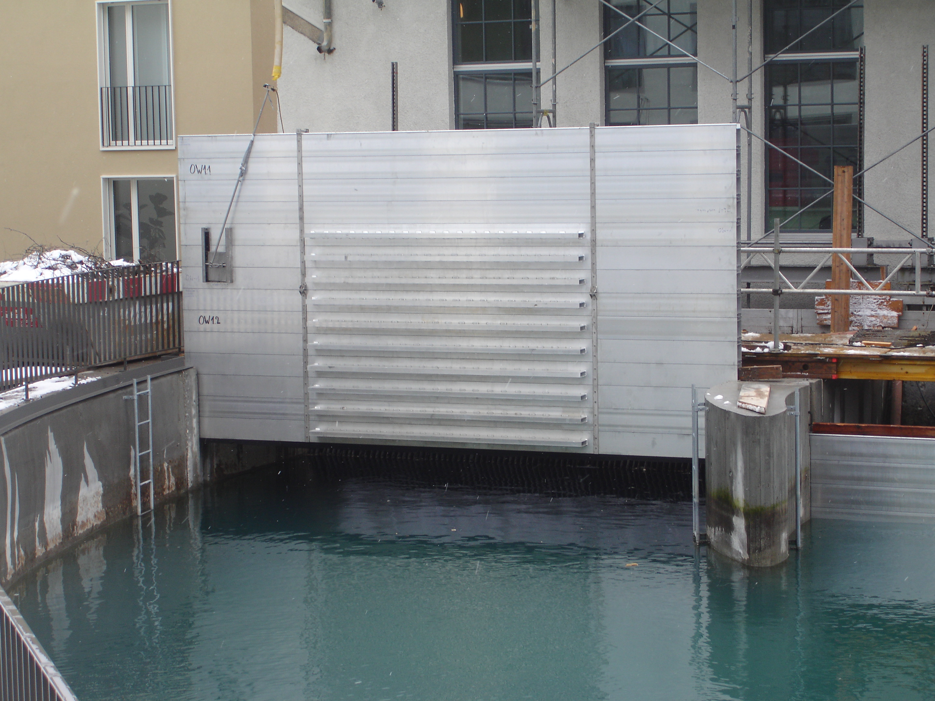 Stoplogs Flood Protection Systems Sluice Gate Uk